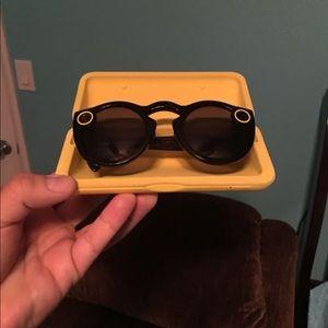 "100% Authentic Snapchat Sunglasses"" Unisex"